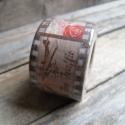 Vintage mintás Washi tape - REPÜLŐ, Papír, Scrapbook, Papírművészet, Vintage mintás washi tape  Vegyes mintákkal a szalagon  Méret: 10m/tekercs  Szélesség: 3cm  Csomago..., Alkotók boltja