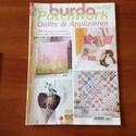 Burda patchwork , Könyv, újság, Újság, Mindenmás, -  patchwork újság- szabásminta melléklettel.  Megkímélt állapotban., Alkotók boltja