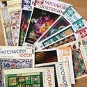 Patchwork ideen , Könyv, újság, Újság, Mindenmás,   Patchwork újság német nyelvű - mintával.   Megkímélt állapotban.  11 db újság, csak egyben lehet ..., Alkotók boltja