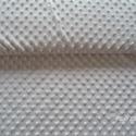 Minky textil - ekrü , Textil, Varrás, Textil, Pihe-puha Minky dot ( pöttyös) textil ekrü, törtfehér színben.100 % poliészter.  1 db termék vásárl..., Alkotók boltja