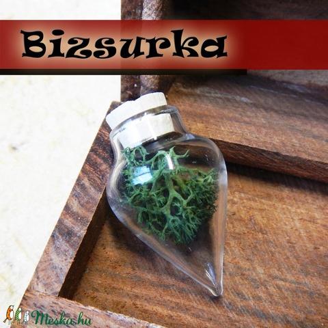 Nagy csúcsos üveg medál készítő csomag, Gyöngy, ékszerkellék, Üveg, Alkotók boltja