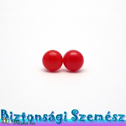10 mm-es biztonsági szem piros 2 db (1 pár), Gomb, Alkotók boltja
