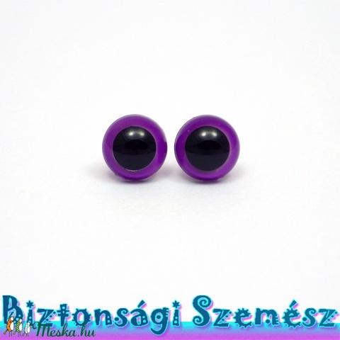 9 mm-es biztonsági szem szilva 2 db (1 pár), Gomb, Alkotók boltja