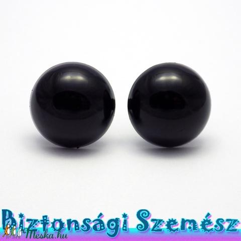 20 mm-es biztonsági szem fekete 2 db (1 pár), Gomb, Alkotók boltja