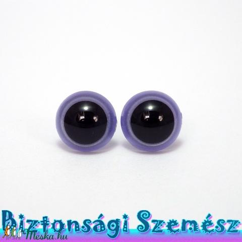 12 mm-es biztonsági szem lila 2 db (1 pár), Szerszámok, eszközök, Eszköz kötéshez, horgoláshoz, Alkotók boltja