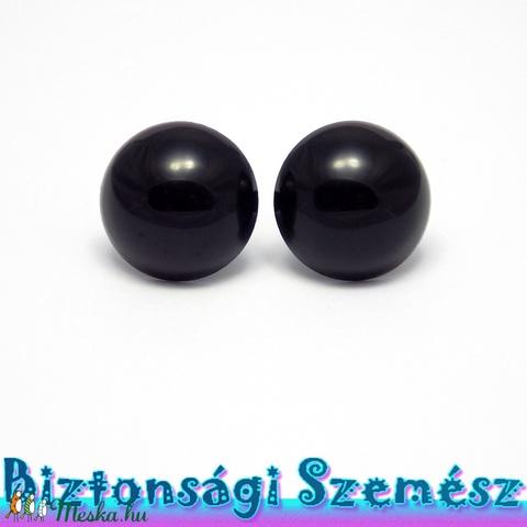 22 mm-es biztonsági szem fekete 2 db (1 pár), Gomb, Alkotók boltja