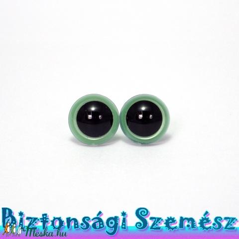 12 mm-es biztonsági szem metálzöld 2 db (1 pár), Szerszámok, eszközök, Eszköz kötéshez, horgoláshoz, Alkotók boltja