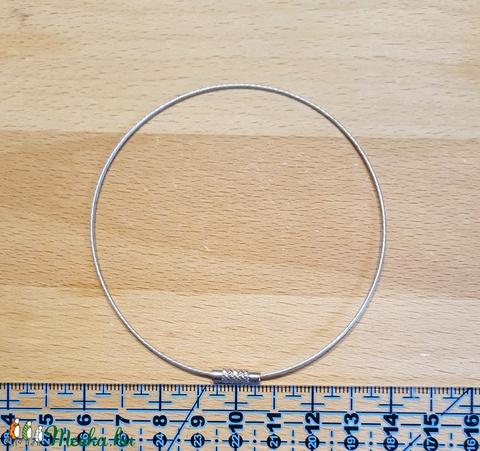 Sodrony karkötő alap 24 cm, Gyöngy, ékszerkellék, Alkotók boltja