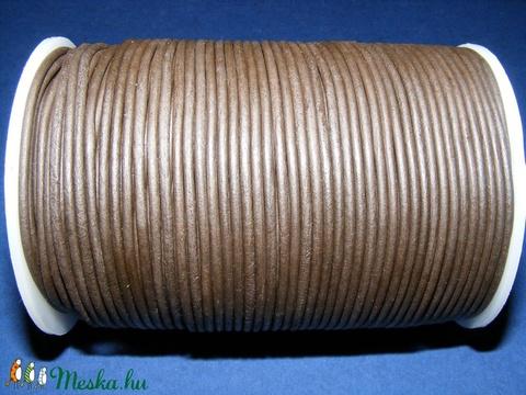 Hasított bőrszíj - 2 mm (19. minta 1 m) - sötétbarna 2c55b3cc21
