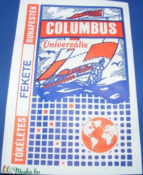 Columbus ruhafesték (5 g/1 db) - acélszürke, Textilfesték, Alkotók boltja