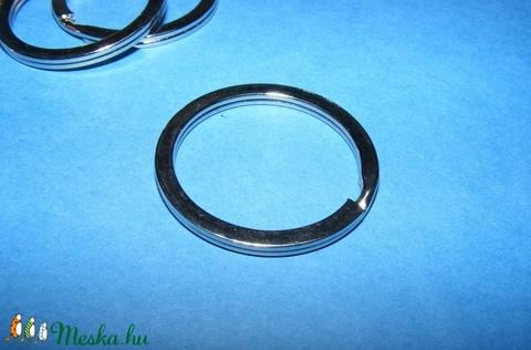 Kulcskarika (468/P minta/1 db) - 30 mm, Csat, karika, zár, Alkotók boltja