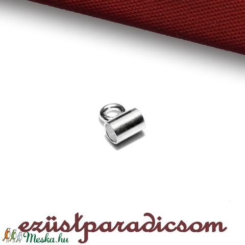925 valódi ezüst MEDÁLAKASZTÓ; B257 - sterling ezüst medál akasztó, Gyöngy, ékszerkellék, Alkotók boltja