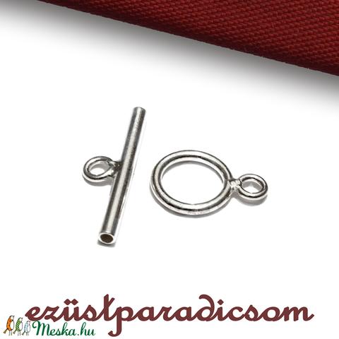 925 valódi ezüst KAPOCS T; B249 - sterling ezüst T-kapocs, Gyöngy, ékszerkellék, Alkotók boltja