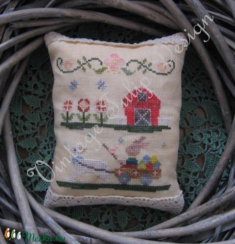 Keresztszemes minta / Cross stitch pattern, DIY (leírások), Szabásminta, útmutató, Alkotók boltja