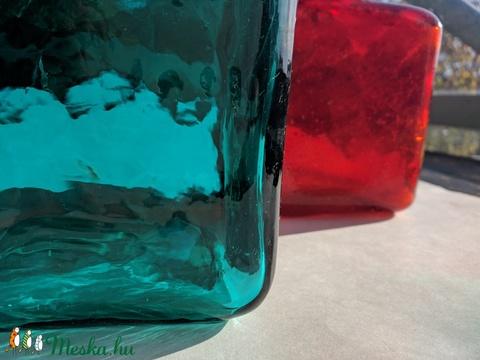 Egyedi színesüveg palackok, Üveg, Alkotók boltja