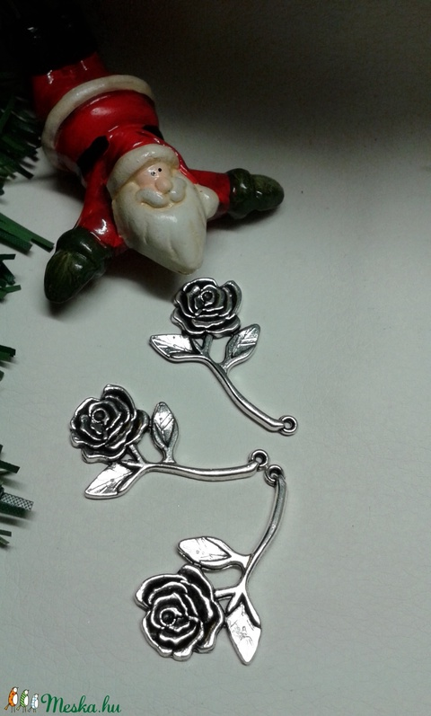 Rózsa medál , Gyöngy, ékszerkellék, Egyéb alkatrész, Alkotók boltja