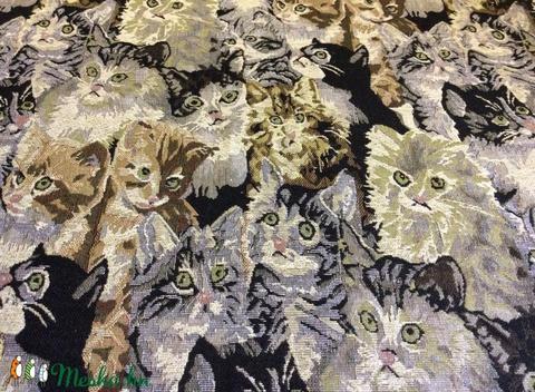 GOBELIN Bútorszövet extra jaquard design textil 150 cm - több féle, Textil, Pamut, Alkotók boltja