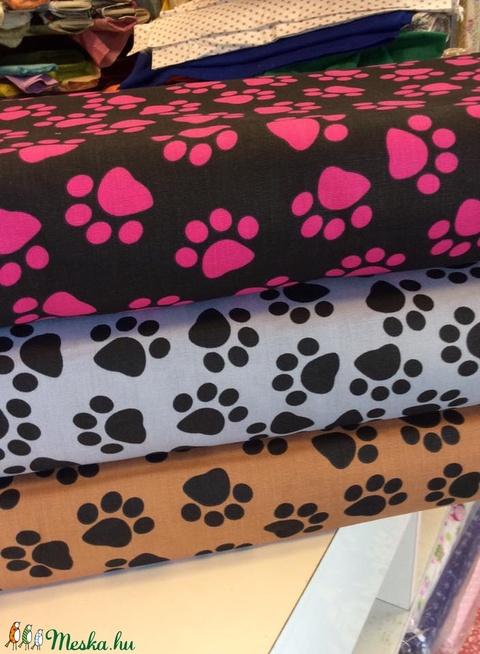 Bútorvászon tappancs mintás-rózsás és tulipános design textil 140 cm - kevert szálas, Textil, Pamut, Alkotók boltja