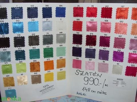 98b0d2d4c4 Dekoratív szatén 40 színben 150 cm széles, Textil, Selyem, Alkotók boltja