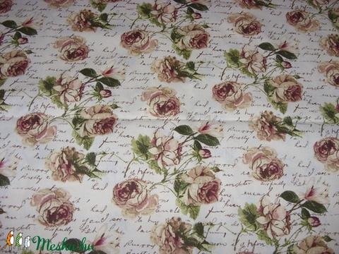 837a43712f Párizs és sok más vintage design textil - 100% pamut 140 cm széles , Textil