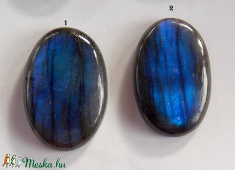 Labradorite 9, Gyöngy, ékszerkellék, Cabochon, Alkotók boltja