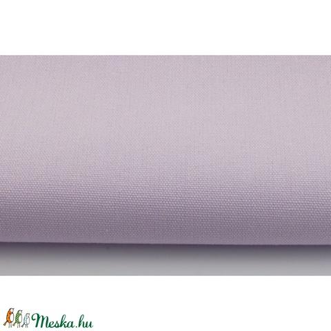 Pasztell lila színű vastagabb vászon anyag - home decor lakástextil, Textil, Vászon, Alkotók boltja
