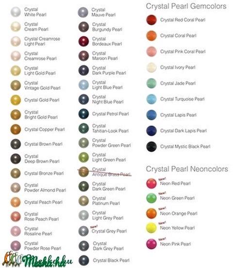Swarovski gyöngy,kiárusítás, igazgyöngy utánzat, 50db, Gyöngy, ékszerkellék, Swarovski kristályok, Alkotók boltja