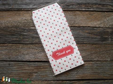 Ajándéktasak boríték THANK YOU 5db/szett, Csomagolóanyag, Boríték, Alkotók boltja
