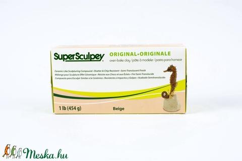 Super Sculpey original bézs 454g , Gyurma, Alkotók boltja