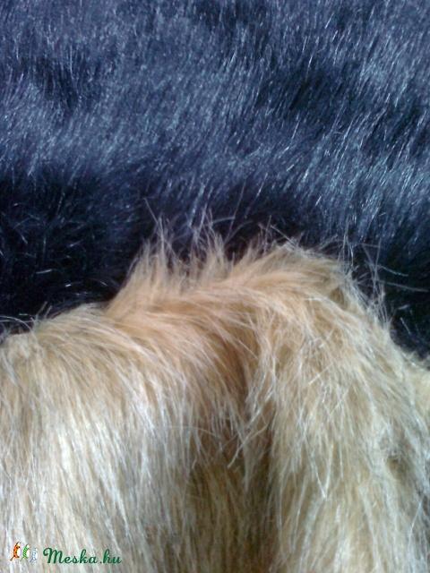 hosszú szőrű szőrme darabok (2 csomag) d651667e11