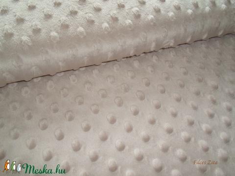 Minky textil - világos drapp, Textil, Alkotók boltja