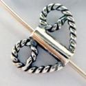 925-ös  antikolt (bali)   ezüst köztes / gyöngy / díszitőelem EKÖ 31 , Gyöngy, ékszerkellék, Fém köztesek, EKÖ 31   925-ös valódi  antikolt (bali) ezüst (bevizsgált) köztes / gyöngy / díszítőelem .  6x10mm-e..., Alkotók boltja