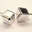 925-ös sterling ezüst medál / pandora EM-P 04  , Gyöngy, ékszerkellék, Fém köztesek, EM-P 04   925-ös valódi ezüst (bevizsgált) medál, pandóra lánc-karkötő készítéséhez .  1 db / csomag..., Alkotók boltja