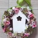 ISTEN HOZOTT színes, tavaszi AJTÓDÍSZ, KOPOGTATÓ, Dekoráció, Otthon, lakberendezés, Anyák napja, Ajtódísz, kopogtató, Virágkötés, Mindenmás, Olyan a dísz akár a tavaszi szellő. Friss, üde a szabadba hívógató. Tavaszi ajtódísz apró színes vi..., Meska