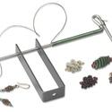 Wire coiling gizmo dróttekerő szett, Szerszámok, eszközök, Eszköz ékszerkészítéshez, Dróttekerő, spirálkészítő.  Átmérők:  0.8;1.5;3.1;3.9;4.5 mm Gyors és egyszerű ékszerkészítés!..., Alkotók boltja