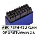 Betübeütő készlet 5 mm es, Angol abc nagybetűk 27 db   Leírás Acélhoz, fémhez és fához használható. Praktikus műanyag..., Alkotók boltja
