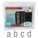 Kisbetű betűbeütő Gothic készlet 3 mm Beadsmith, Angol abc  27 db Gothic kisbetük tipus 3 mm-es  Leírás Acélhoz, fémhez és fához használható..., Alkotók boltja