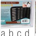 Kisbetű betűbeütő Gothic készlet 6 mm Beadsmith, , Fémmegmunkálás, ötvösség, Angol abc  27 db Gothic kisbetük tipus 6 mm-es  Leírás Acélhoz, fémhez és fához használható. Prakti..., Alkotók boltja