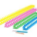 Kötő készlet  Kötőkeret loom, Árucikk leírása  A kötőkeretet sálak, üreges vagy egyenes kötések készítésére használhatják.  Využij..., Alkotók boltja