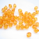 - 4 mm akril bicone  28 g, kb. 100 db/cs.NARANCS, Gyöngy, ékszerkellék, Műanyag gyöngy, Ékszerkészítés, Gyöngy, Méret: 4 mm Alak: kúpos Színe: NARANCS Lyuk 0,8 mm  A csomag 28 g gyöngyöt tartalmaz, ami kb.100 da..., Alkotók boltja