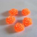 - 5 db gyanta rózsa cabochon 10 mm, R22, Gyöngy, ékszerkellék, Cabochon, Befoglalható, ragasztható gyanta rózsa cabochon.  Méret: 10 mm Ragasztható felület 6,5 mm  Egy..., Alkotók boltja