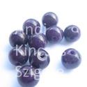 - Jade 6 mm, 9 db/ cs. festett sötétlila, Gyöngy, ékszerkellék, Féldrágakő, Természetes jade gyógyítókő.   Természetes ásvány.  Festett.  Mérete: 6 mm Lyuk: 1 mm   Az ..., Alkotók boltja