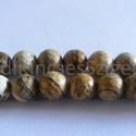 -Perui Képjáspis 8 mm  24 db /cs természetes, Gyöngy, ékszerkellék, Féldrágakő, Perui fazettált Képjáspis ásványkő. Természetes, nem festett, nem színezett.  Méret: 8 mm Lyuk: 1 mm..., Alkotók boltja
