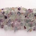 -Fluorit chips  természetes, Gyöngy, ékszerkellék, Féldrágakő, Fluorit chips.  Természetes ásvány. Közepes méretű ásványok.  Méret: 5 x 8 mm Lyuk: 1 mm  Az ár 90 c..., Alkotók boltja