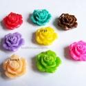 - 2 db hajcsatalap + 2 db gyanta rózsa, Gyöngy, ékszerkellék, Egyéb alkatrész, Alkotók boltja