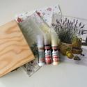 Decoupage csomag  I, Díszíthető tárgyak, Fa, Mindenmás, Papírművészet, Decoupage, szalvétatechnika, VÉGKIÁRUSÍTÁS !!!  Kreatív csomag decoupage technikához  Tartalma: -natúr fadoboz 14x14x3 cm  -3 db..., Alkotók boltja