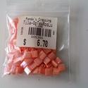 Tila gyöngy gyöngyház rózsaszín, Gyöngy, ékszerkellék, Ékszerkészítés, Gyöngy, Kiárusítás !!!  Miyuki tila gyöngy 5x5 mm 10gr (kb 110 db/ csomag )  Gyöngyházas rózsaszín. Japán t..., Alkotók boltja