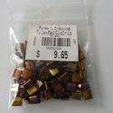 Tila gyöngy metál arany, Gyöngy, ékszerkellék, Ékszerkészítés, Gyöngy, Kiárusítás !!!  Miyuki tila gyöngy 5x5 mm 10gr (kb 110 db/ csomag )  Metál arany. Japán termék.  Al..., Alkotók boltja
