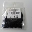 Tila gyöngy fényes fekete, Gyöngy, ékszerkellék, Ékszerkészítés, Gyöngy, Kiárusítás !!!  Miyuki tila gyöngy 5x5 mm 10gr (kb 110 db/ csomag )  Fényes fekete. Japán termék.  ..., Alkotók boltja