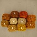 Magyar gyapjúfonal különféle színekben, Fonal, cérna, Gyapjúfonal, Mindenmás, Kötés, horgolás, Hímzés, 100 % gyapjú fonalak különböző színekben. Ttex:~400  (Nm: ~2,5)  3 ágú, jól használható a normál mé..., Alkotók boltja